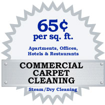Northern VA DC MD commercial carpet cleaning coupon