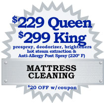 Northern VA DC MD Mattress Cleaning Coupon 2